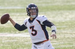 Quarterback-less Broncos complete one pass in blowout loss to Saints