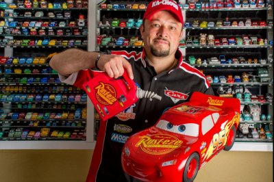 Disney fan's 'Cars' collection earns Guinness World Record