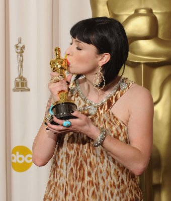 'Juno' scribe wins screenplay Oscar