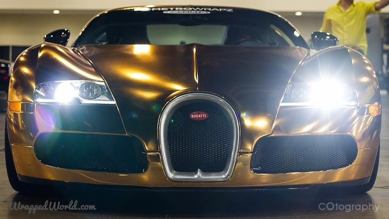 check out flo rida's gold bugatti veyron - upi