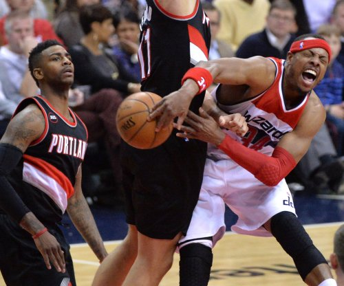 Washington Wizards hang on to beat Portland Trail Blazers