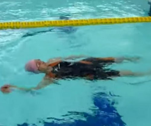 100-year-old swimmer backstrokes to world record in Japan