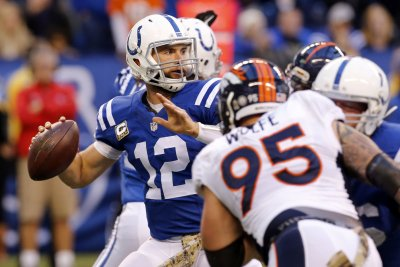 NFL notebook: Colts' Luck to see action Thursday