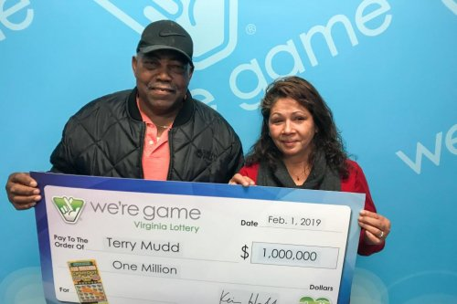 Virginia man surprises wife with $1M winning lotto ticket