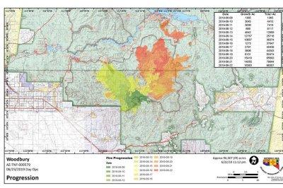 Arizona wildfire burns 100,000 acres