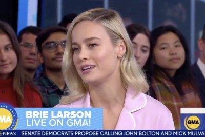 Brie Larson: Jamie Foxx was leader on 'Just Mercy' set