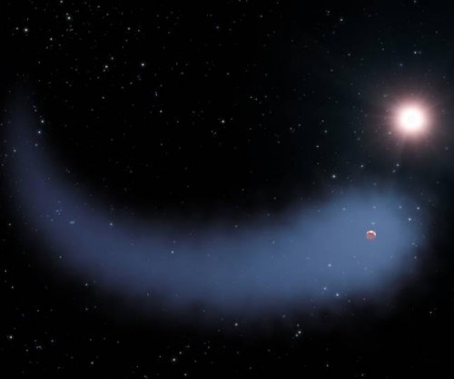 Scientists dub exoplanet's bleeding atmosphere 'The Behemoth'