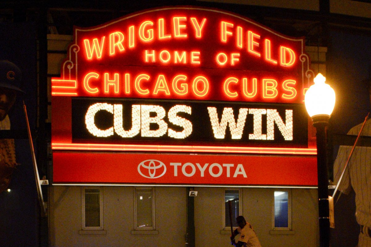 The Cubs Win the World Series
