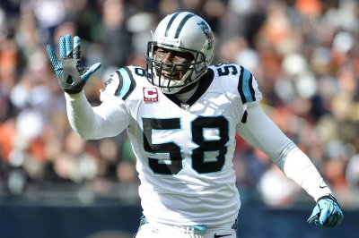 Panthers' Ron Rivera pleased with return of LB Thomas Davis