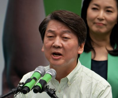 South Korea's Ahn Cheol-soo leaves own party