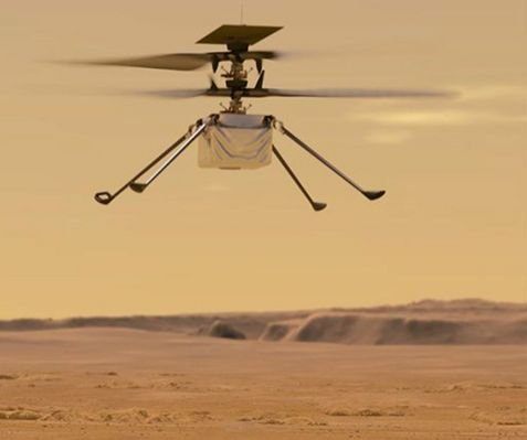 NASA: Mars helicopter Ingenuity successfully completes 14th flight