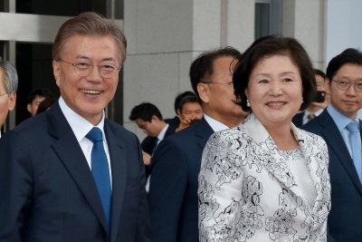 New South Korea President Moon Jae-in reaffirms U.S. alliance