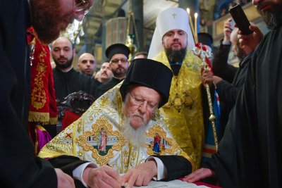 Ukrainian Orthodox Church separated from Russia