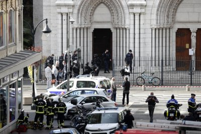 Knife 'terrorist attack' at Catholic church in Nice, France kills 3