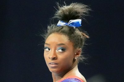 Gymnast Simone Biles 'nervous' about lack of family at Olympics