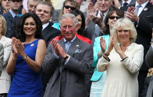 Prince Charles visits 'Doctor Who' set in Wales