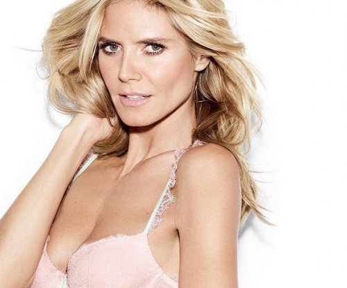 Heidi Klum launches new lingerie line