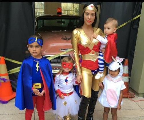 Kourtney Kardashian shares Halloween photo with kids, North West