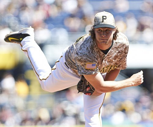 Pittsburgh Pirates' Gerrit Cole gets scare on mound