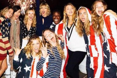 Taylor Swift joins Blake Lively, Cara Delevingne and more for star-studded July Fourth celebration
