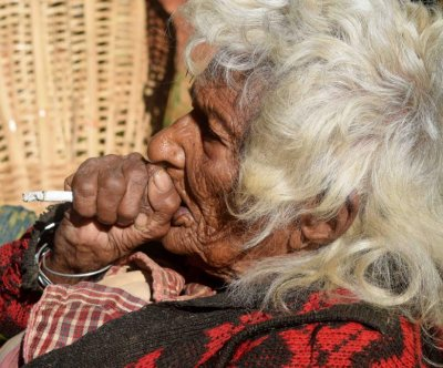 112-year-old Nepal woman says she's been smoking for 95 years