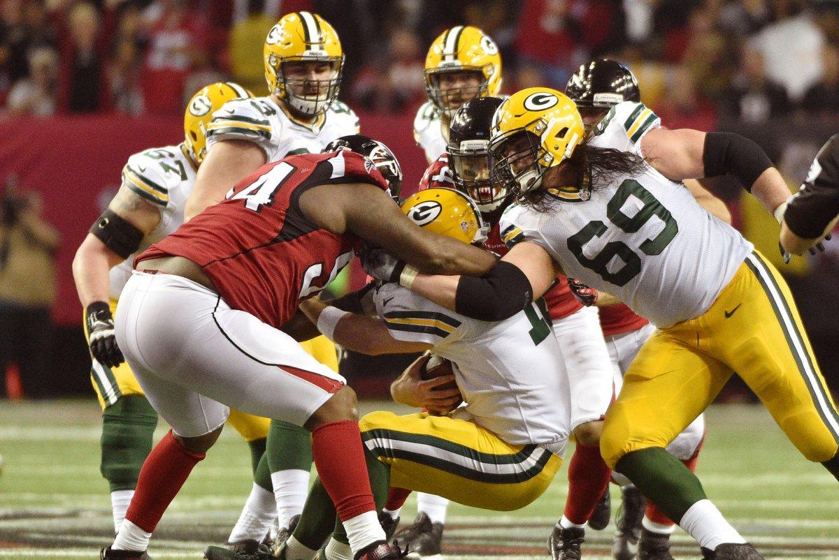 OL T J Lang leaves Green Bay Packers joins Detroit Lions UPI