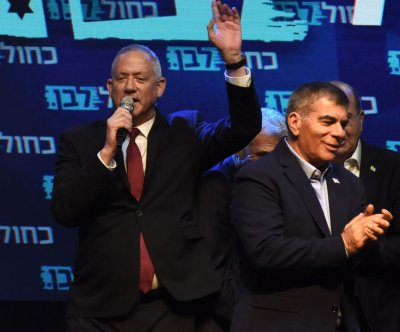 Gantz holds narrow lead over Netanyahu in Israeli election