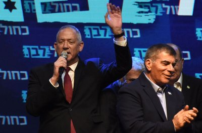 Gantz holds narrow lead over Netanyahu in Israeli election