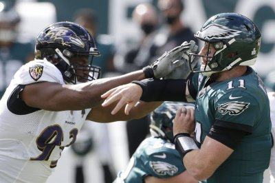 Baltimore Ravens' Calais Campbell ruled out for first time since 2014