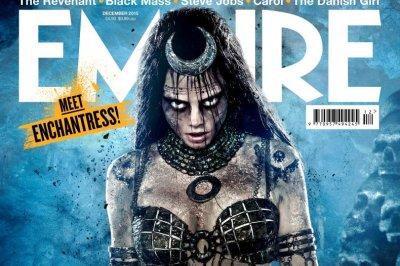 Cara Delevingne covers Empire magazine as Enchantress