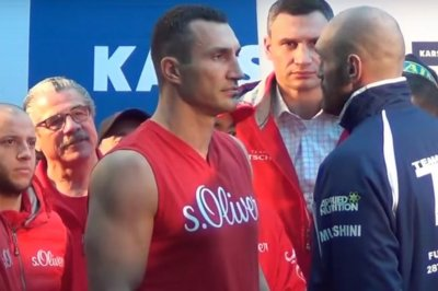 Tyson Fury stuns longtime champion Wladimir Klitschko to win heavyweight titles