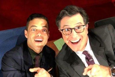 Rami Malek posts first Instagram with Stephen Colbert's help