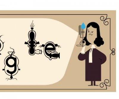 Google celebrates the 384th birthday of microbiology inventor Antoni van Leeuwenhoek in new Doodle