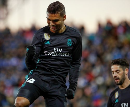Real Madrid stomps Leganes after trailing 1-0, Ronaldo rested