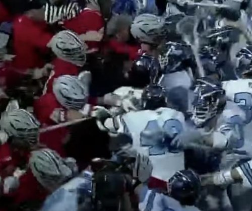 Ohio State, Johns Hopkins erupt into big lacrosse brawl