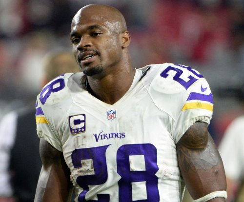 Minnesota Vikings vs Chicago Bears: RB Adrian Peterson ruled out for final game