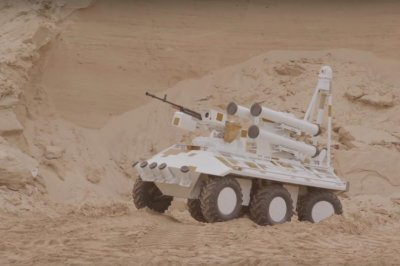 Ukroboronprom presents modified Phantom unmanned vehicle