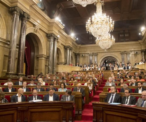 Spanish court bans Catalan parliament from meeting, declaring independence
