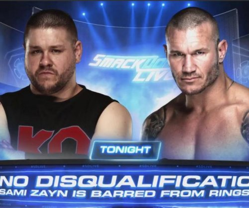 WWE Smackdown: Kevin Owens, Randy Orton battle in no disqualification match