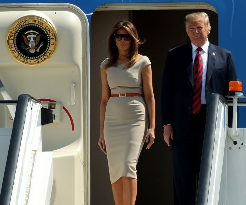 Trump in Britain to meet with May, queen after shaking up NATO summit