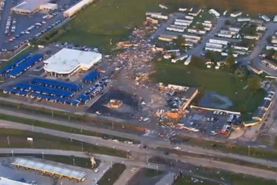 Tornado in Oklahoma kills at least two, damages property