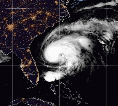 Humberto strengths into Hurricane; U.S. surf may be dangerous
