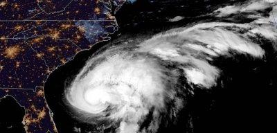 Humberto strengthens into Category 1 hurricane off U.S. Southeast