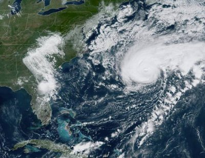 Category 3 Hurricane Humberto gains more strength off East Coast