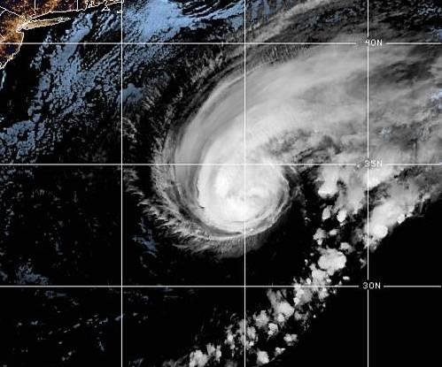 Humberto strengthens into a Category 3 major hurricane as it tracks toward Bermuda