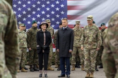 Poland, U.S. celebrate new U.S. Army division headquarters in Poland