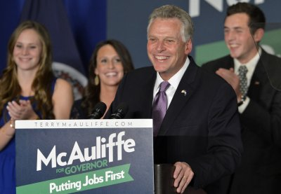 Terry McAuliffe inaugurated as governor of Virginia