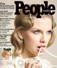 Taylor Swift channels Mia Farrow in new People cover