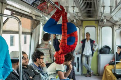 'Spider-Man' faces everyday struggles in Cairo