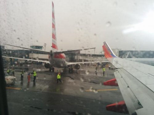 Two planes clip wings at LaGuardia Airport